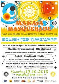 MAKAvA Masquerade  ☆ Delighted Timewarp ☆@Postgarage