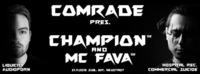 COMRADE DNB pres. CHAMPION & MC FAVA@SUB