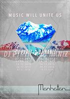 MUSIC WILL UNITE US mit DJ NANIZ@Manhattan Cafe Bar Skylounge