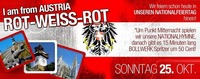 I am from AUSTRIA - ROT-WEISS-ROT!