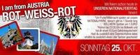 I am from AUSTRIA - ROT-WEISS-ROT!@Bollwerk Klagenfurt