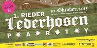 1. Rieder Lederhosen Party@Gh. Langeder