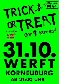 Trick or Treat...der 9. Streich!