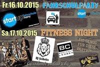 ★★★ Cestlavie Fahrschulparty / Fitness weekend (16.& 17.10.2015)★★★@Cestlavie