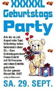 Geburtstags Party