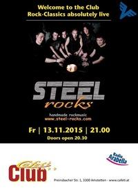 STEEL ROCKS live at the CAFETI CLUB@Cafeti Club