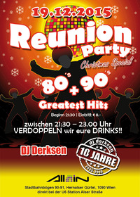 80's + 90's Reunion Party + aktuelle Hits der Charts