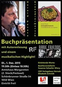 Grenadiermarsch - Buchpräsentation von Harald Pesata@Bezirksamt Margareten