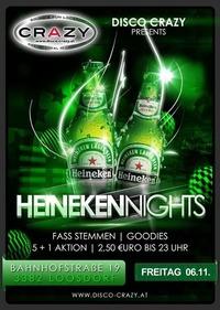 HEINEKEN NIGHT@Disco Crazy