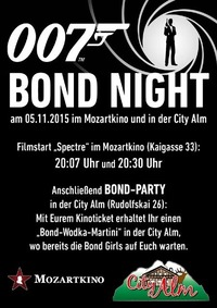 Bond Night@City Alm