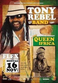 Tony Rebel – Queen Ifrica & Band