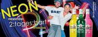 Duke Neon Party mit 2:Tages:bart