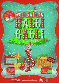 Weihnachts-HalliGalli am Donaukanal@Badeschiff