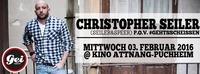 CHRISTOPHER SEILER  - P.O.V #gehtsscheissn @ Kinosaal Attnang-Puchheim@GEI Musikclub