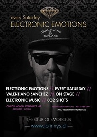 Electronic Emotions #Valentiano Sanchez@Johnnys - The Castle of Emotions