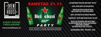 HEINEKEN 007 PARTY @ EVENT HOUSE FREILASSING@Eventhouse Freilassing