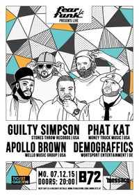 Fear le Funk  Guilty Simpson, Apollo Brown, Phat Kat & Demograffics