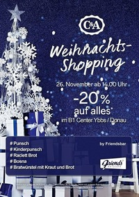 Weihnachts-Shopping@Friends Show-Cocktailbar