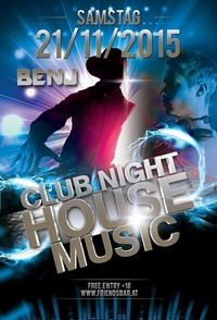 Club Night House Musik@Friends Show-Cocktailbar