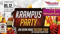 KRAMPUS PARTY MIT JIM BEAM - MAKE HISTORY TOUR@Rossini