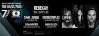 7 years WORLD OF TECHNO // pres. REBEKAH (Clr) | Drumcomplex | Simo Lorenz - 05.01.2016@Baby'O