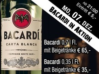 Bacardi Carta Blanca in Aktion@Partymaus Wörgl