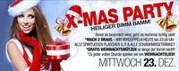 X-MAS PARTY - HEILIGER BIMM BAMM!@Bollwerk