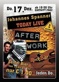 Johannes Spanner LIVE!@Excalibur