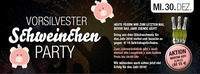 Vorsilvester Schweinchen Party