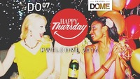 HAPPY THURSDAY  #WELCOME 2016@Praterdome