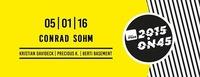 FM4 on 45 // 05. Jänner 2016 // Conrad Sohm@Conrad Sohm