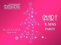 MARY X-MAS PARTY@Inside Bar