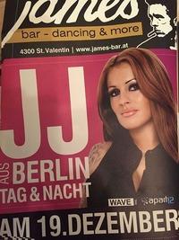 JJ aus Berlin Tag & Nacht @ James