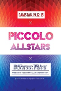 Piccolo Allstars Party@Piccolo Bar Eisenstadt