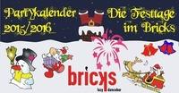 Die Feiertage im Bricks: Partykalender 2015/2016@Bricks - lazy dancebar