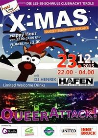 Queerattack! - X MAS@VAZ Hafen
