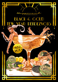 KUSSMAUL BLACK & GOLD NEW YEAR RENDEZVOUS