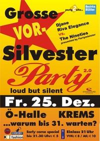 DIE GROSSE VORSILVESTERPARTY IN KREMS 2.0@Österreichhallen Krems a. d. Donau