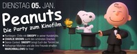 PEANUTS – die Party zum neuen Kinofilm!