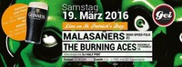 Live (almost) on St. Patricks Day: Malasañers & The Burning Aces @ GEI Musikclub, Timelkam@GEI Musikclub