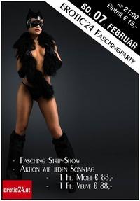 Erotic24 Faschingsparty mit Strip Show und Aktion