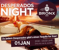 Desperados Night@Bronx Bar