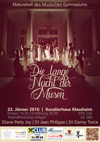 Die Lange Nacht der Musen - Ball des Musischen Gymnasiums Salzburg
