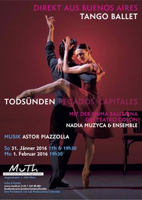 TODSÜNDEN - Tango-Ballett aus Buenos Aires@MuTh - Konzertsaal der Wiener Sängerknaben