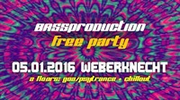 Bassproduction Free Party@Weberknecht