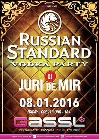 Russian Standard Vodka Party@Gassl