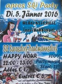 Apres Ski Party 2016@Veranstaltungshalle