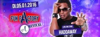 Fun Factory Revival Party - HADDAWAY - WHAT IS LOVE?@A-Danceclub