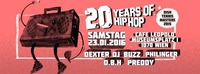 20 Years presents Dish Tennis Masters 2015 - feat. DEXTER!@Café Leopold