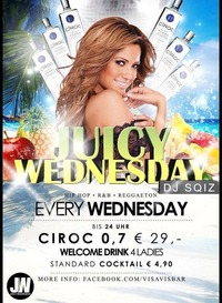 Juicy Wednesday@Vis A Vis